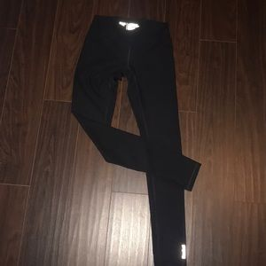Reebok black full length leggings